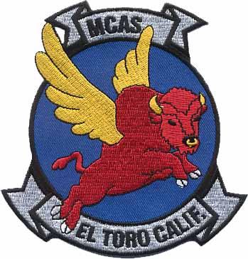 MCAS El Toro logo (flying bull)