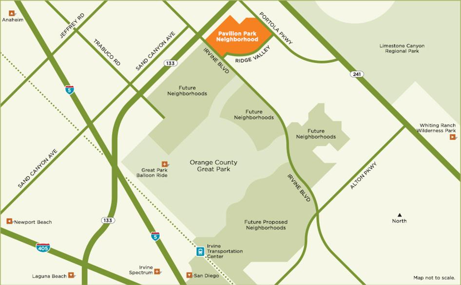 New development on former MCAS El Toro site:  Orange County Great Park