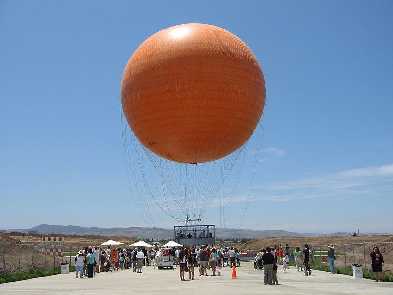 Orange County Great Park balloon ride
