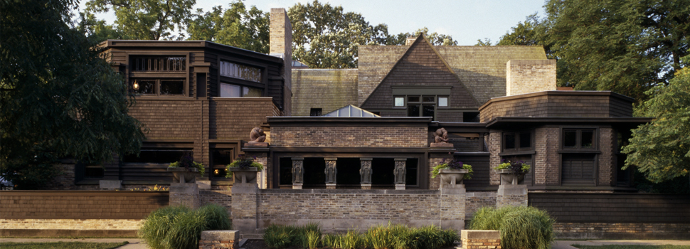 Frank Lloyd Wright Home & Studio (Source: http://www.flwright.org/, The Frank Lloyd Wright Organization)