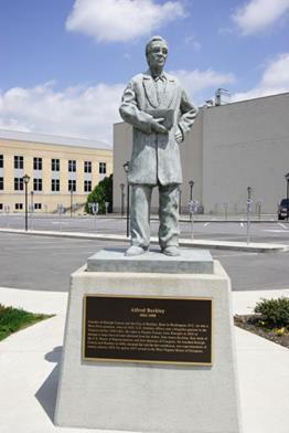 Gen. Alfred Beckley statue in Word Park Beckley, WV