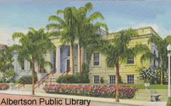 The Albertson Public Library