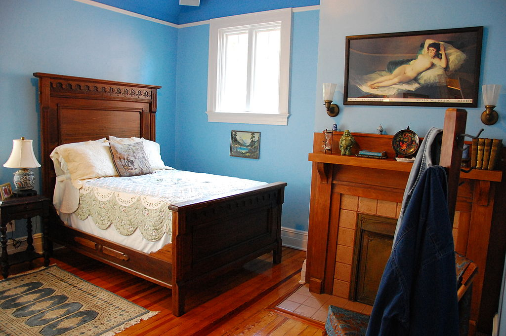 Duane Allman's bedroom in 2010