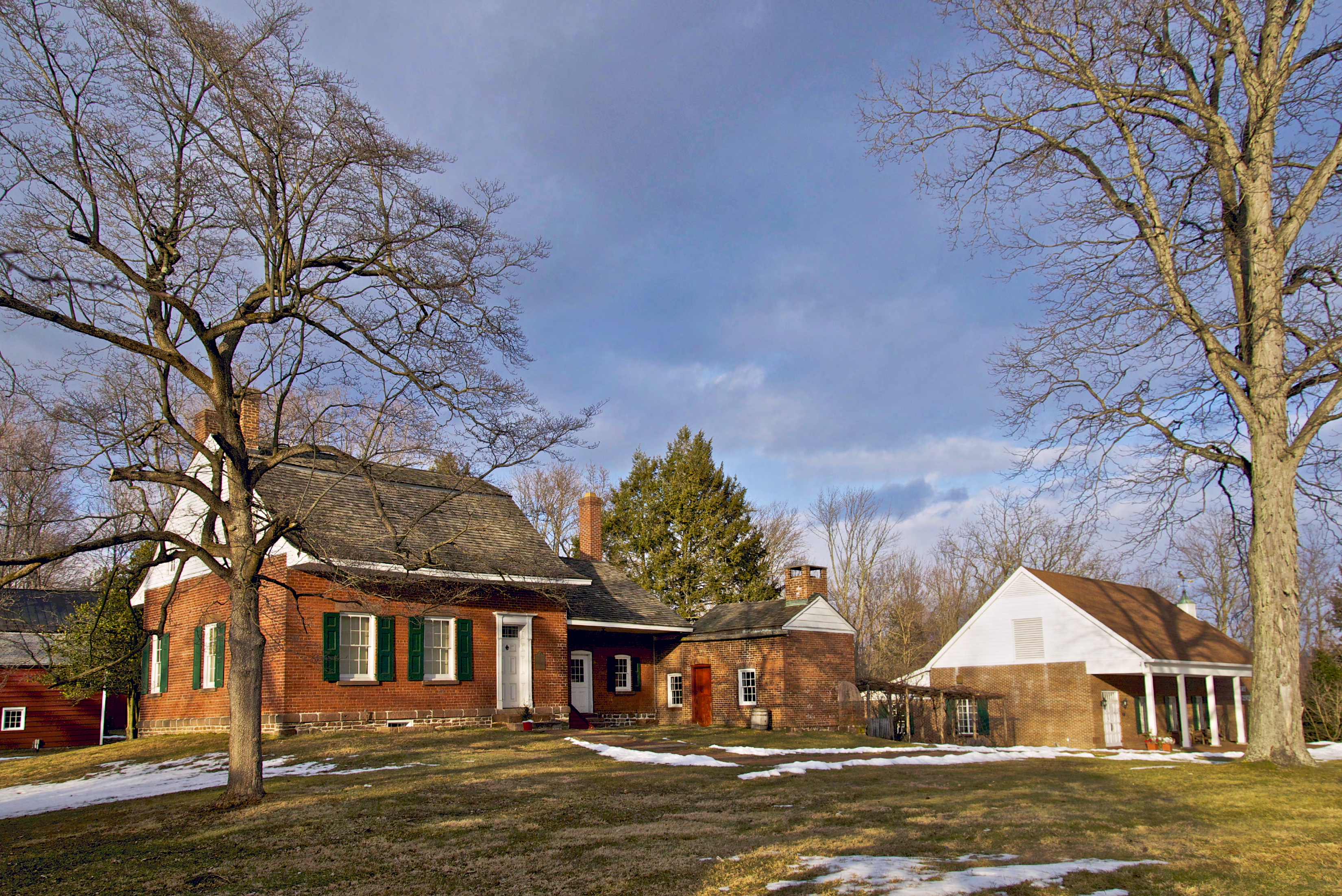 The Jacob Blauvelt House and the History Center at The Historical Society of Rockland County