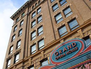 Facade of the Grand Opera House