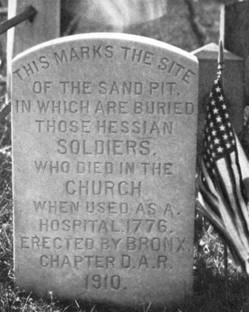 Hessian Soldiers Grave Marker