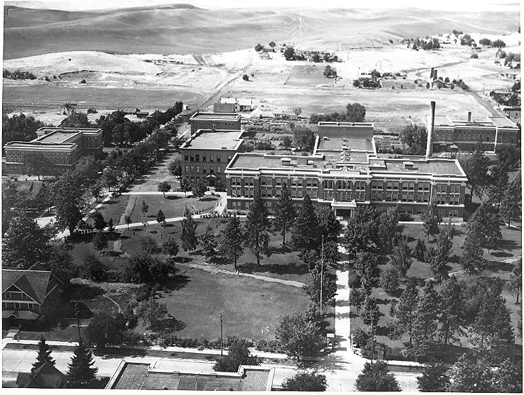 The Normal School in 1930s.