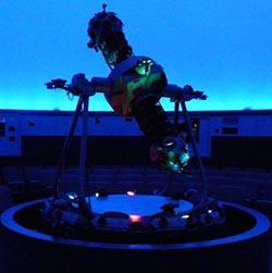 Konica Minolta Super MediaGlobe II in the Mark Smith planetarium