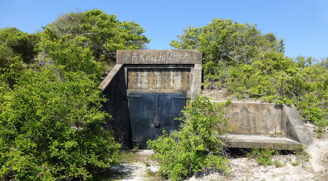 Battery 233 gun emplacement #2 entrance