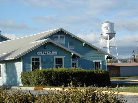 The former Palmer Depot