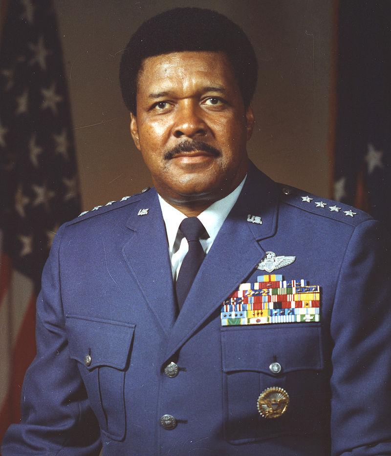 "General Daniel ""Chappie"" James, Jr. in 1975"