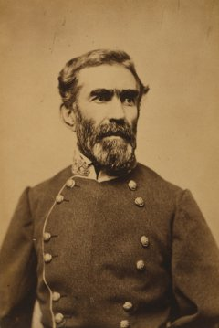 CSA General and commander of Pensacola, Braxton Bragg