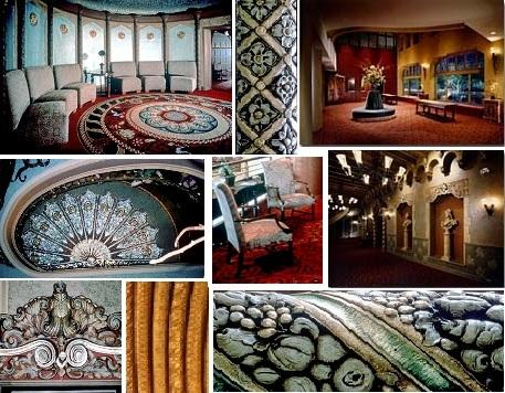Interior details.