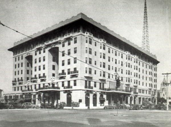 Hotel in 1940s
