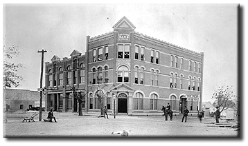 The building as it appeared in the late 19th century.