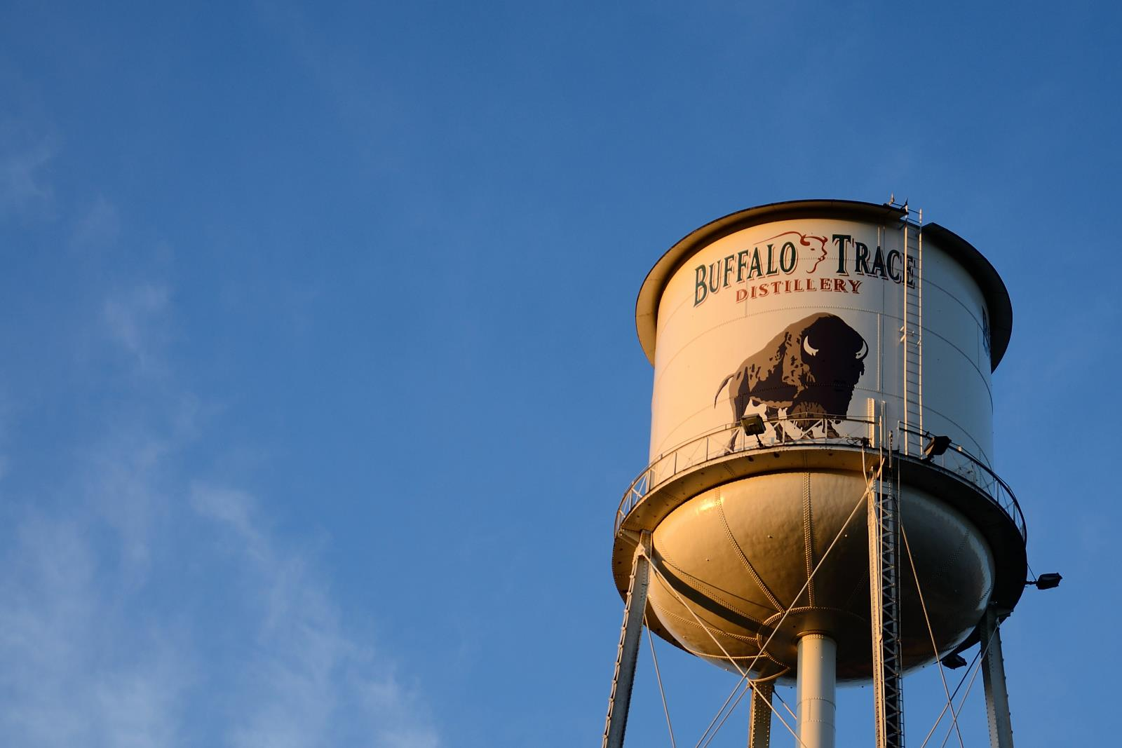 The Buffalo Trace Tower. Image by Kittugwiki - Own work, CC BY-SA 3.0, https://commons.wikimedia.org/w/index.php?curid=30551193