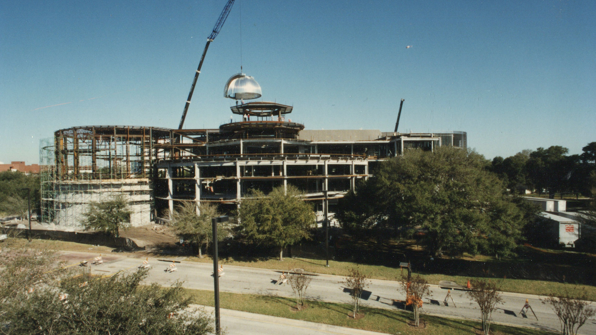 Construction of the Orlando Science Center