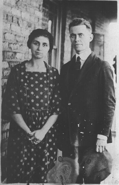 Founder Leo Lambert and his wife, Ruby.