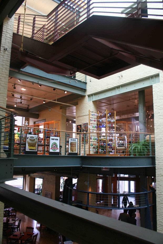 Inside the Artisan Center