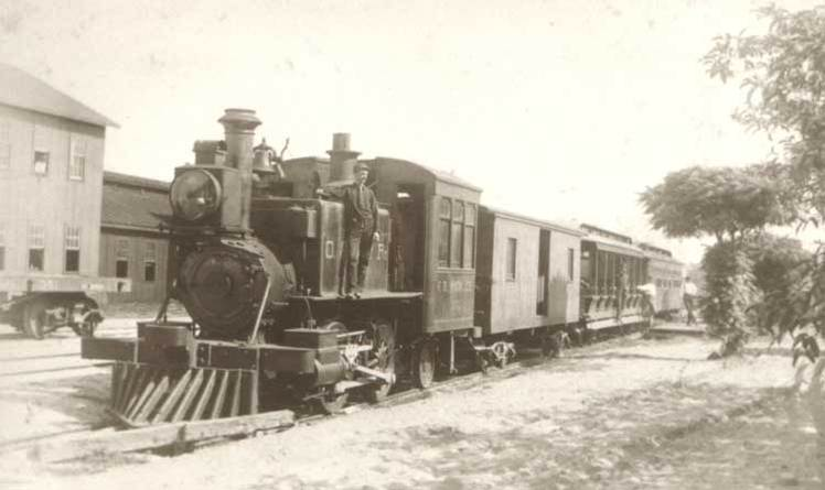 The Orlando-Winter Park Railroad, Dinky Line. The railroad opened in January of 1889. The course it ran was six miles and on its first trip two coaches had run off the track-hurting no one. By 1969 the railroad closed and the tracks were removed.