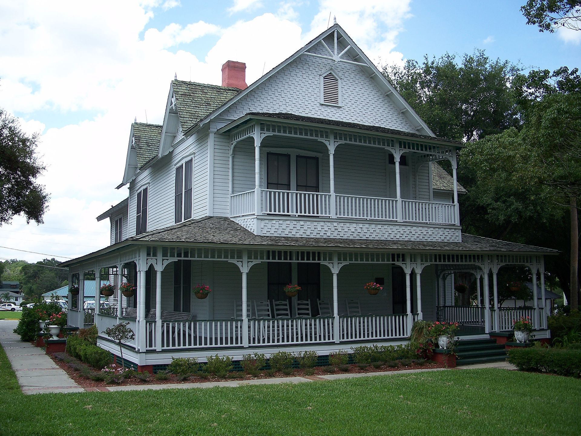 The Withers-Maguire House was built in 1888 and is today available to rent for small events and gatherings.