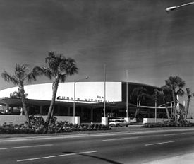 Curtis Hixon Hall in 1965