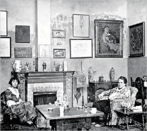 Stein and Toklas in 1923