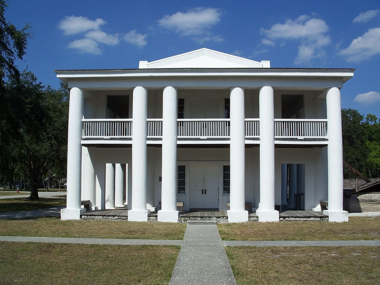 The Gamble Mansion was built in 1850, making it the oldest house on Florida's west coast.