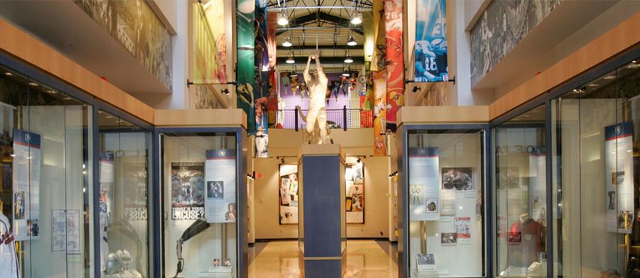 Georgia Sports Hall of Fame Corridor