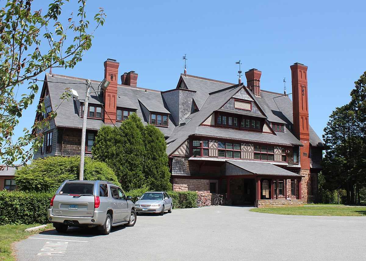 The Sherman House now serves as student housing for Salve Regina University.