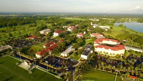 Another aerial view of the campus.