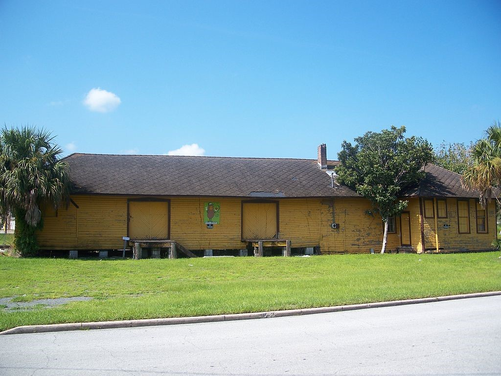 The Apopka Seaboard Air Line Railway Depot