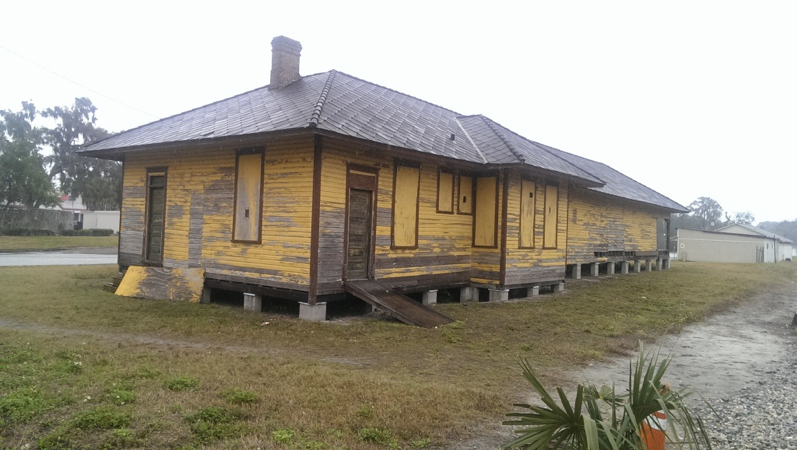 Another view of the Apopka Seaboard Air Line Railway Depot