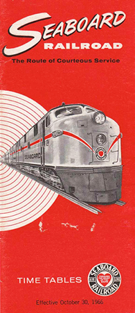 Advertisement of the Seaboard Airline Railway