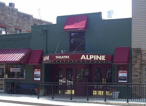 The Alpine Theatre today.