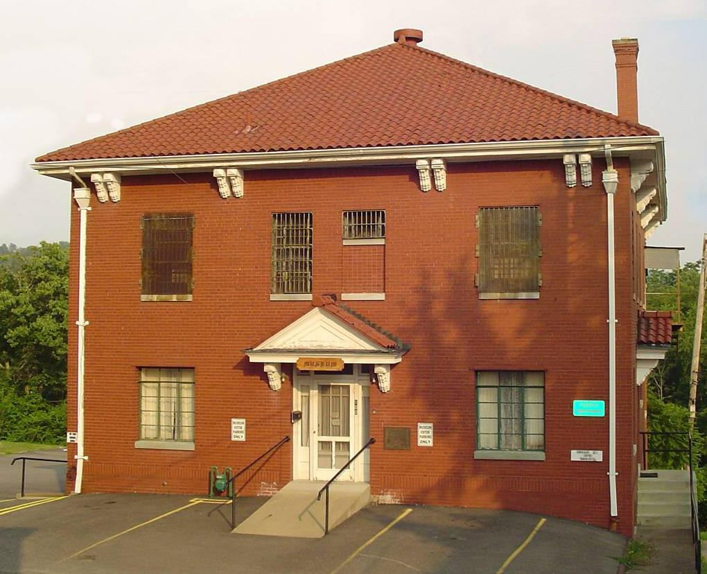 Once the Doddridge County jail built in 1937, now houses the Doddridge County Historical Society.