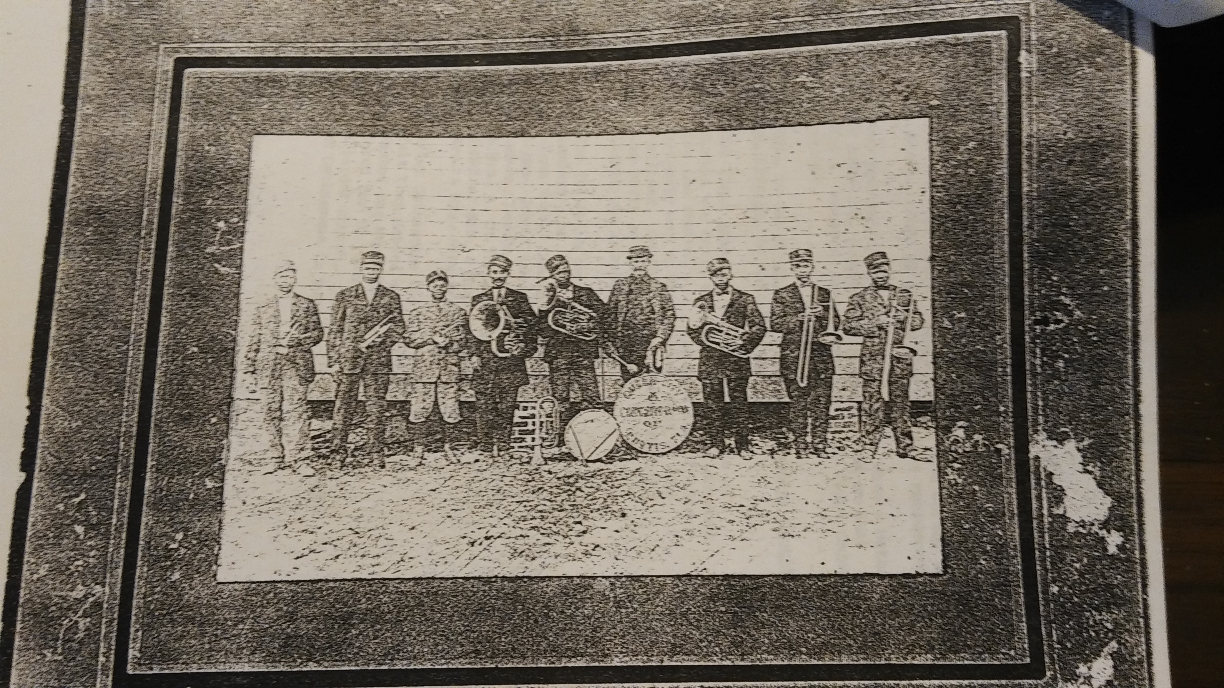 Curtright Vocational Training School Band.