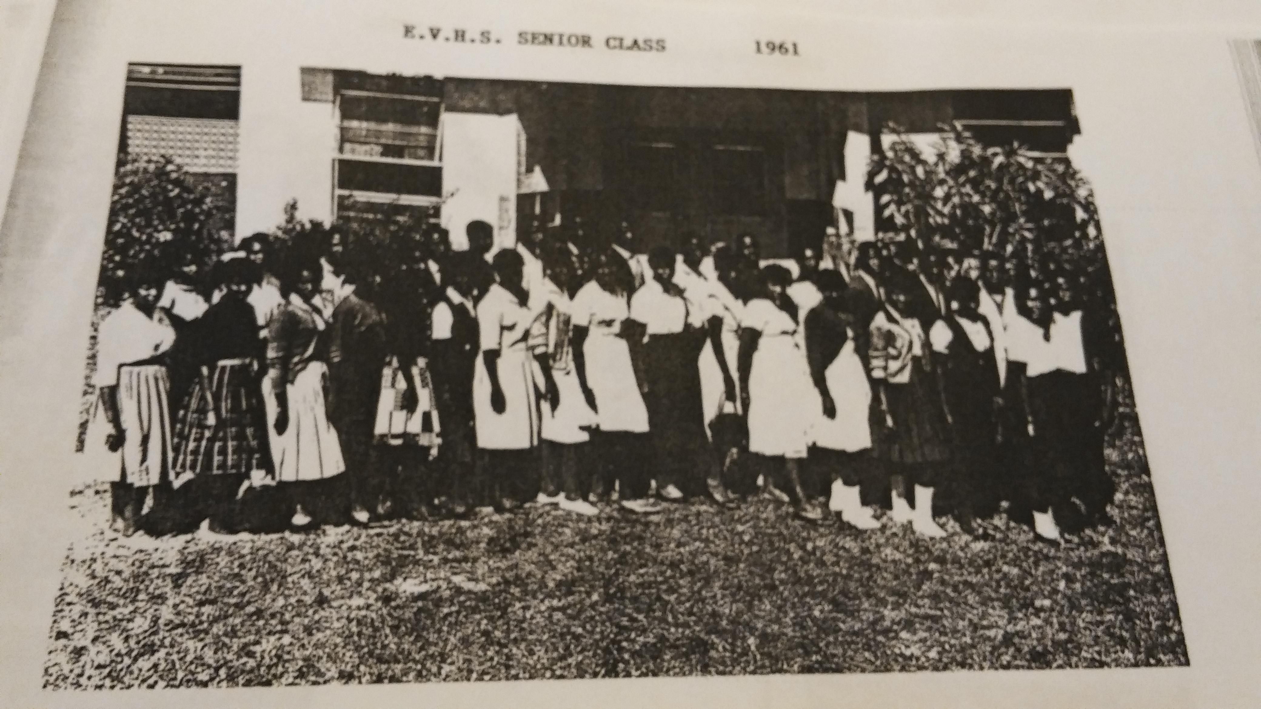 Eustis Vocational High School Senior Class of 1961