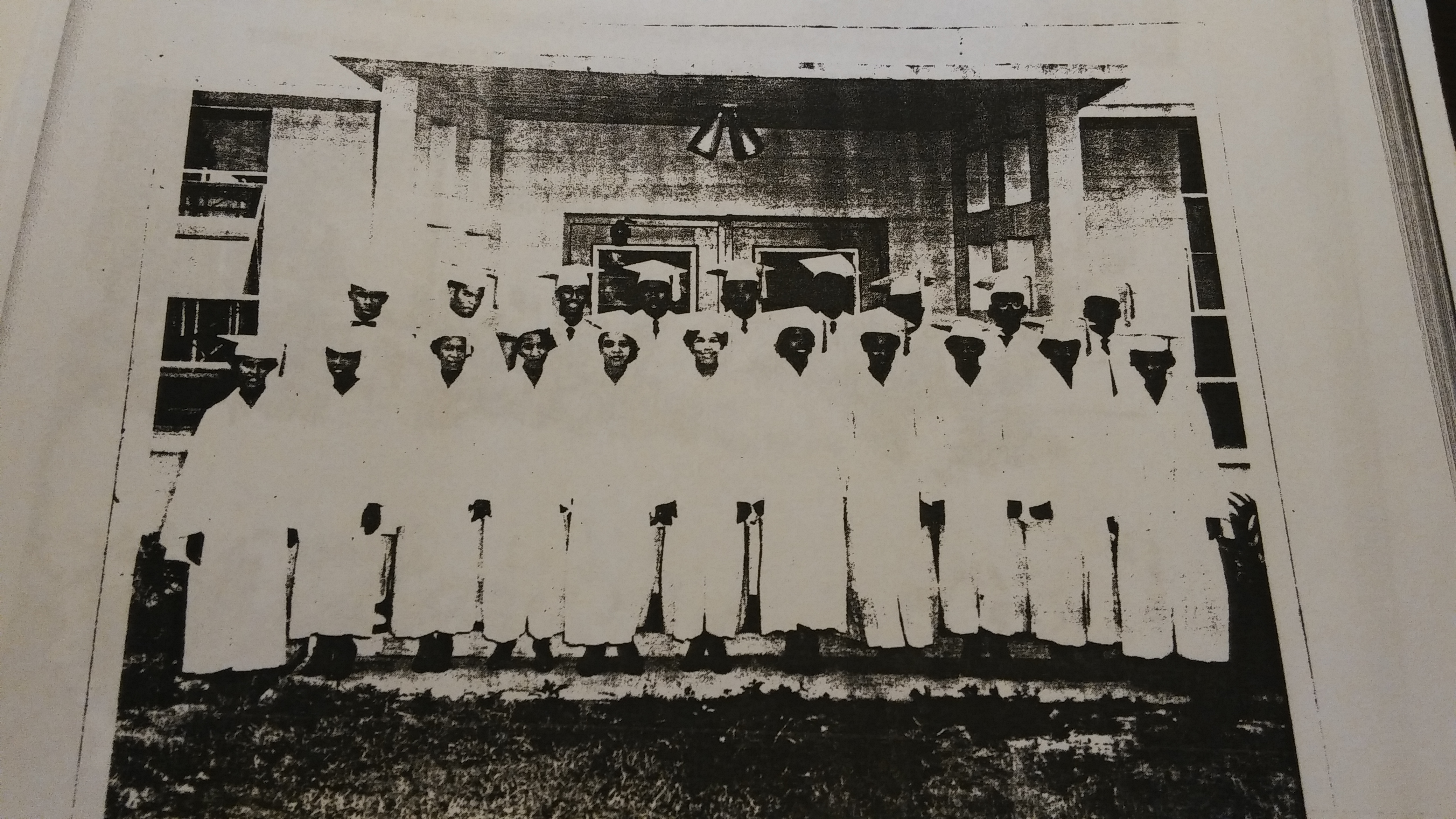 Eustis Vocational High School graduating class, year unknown