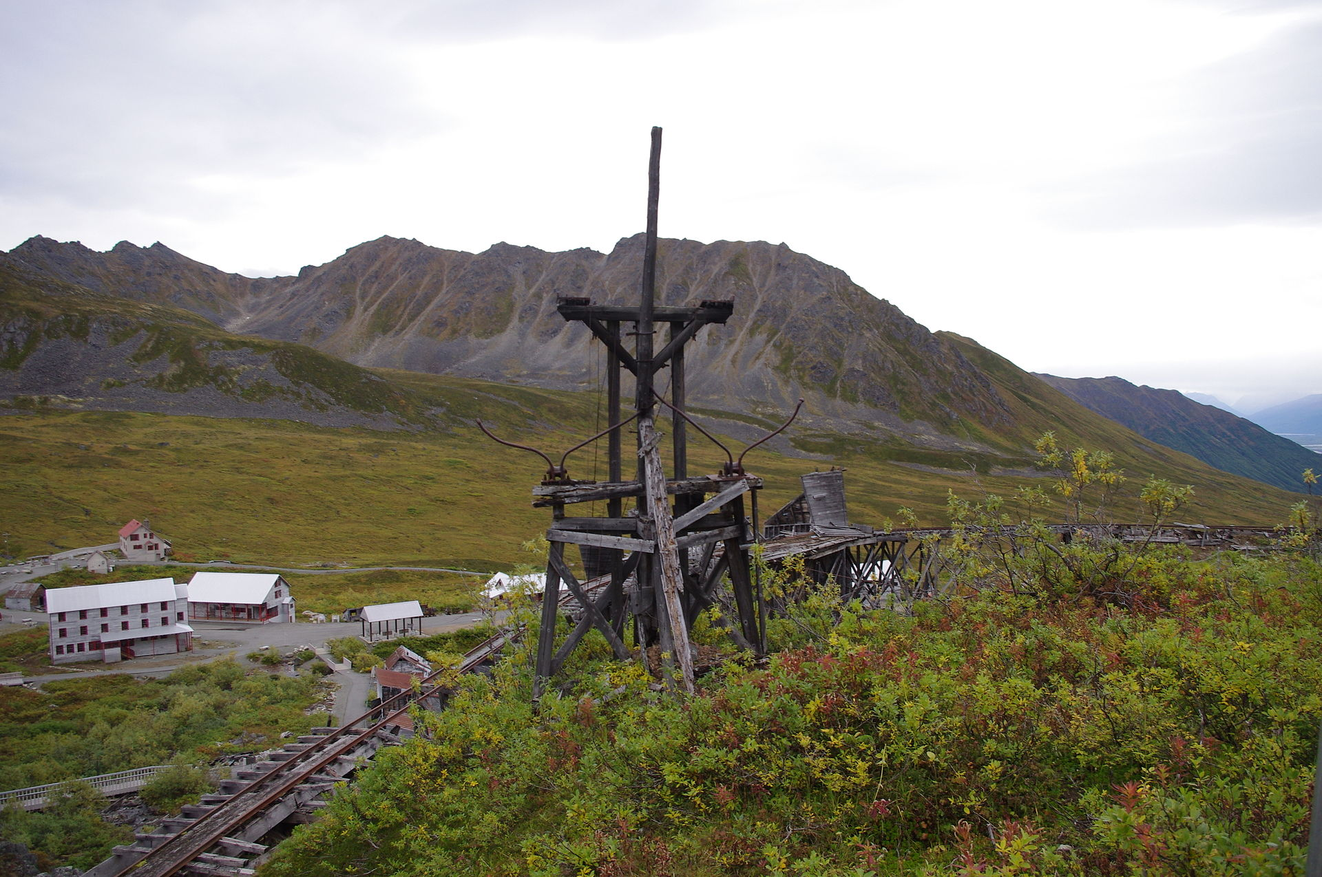 Remnants of the mine