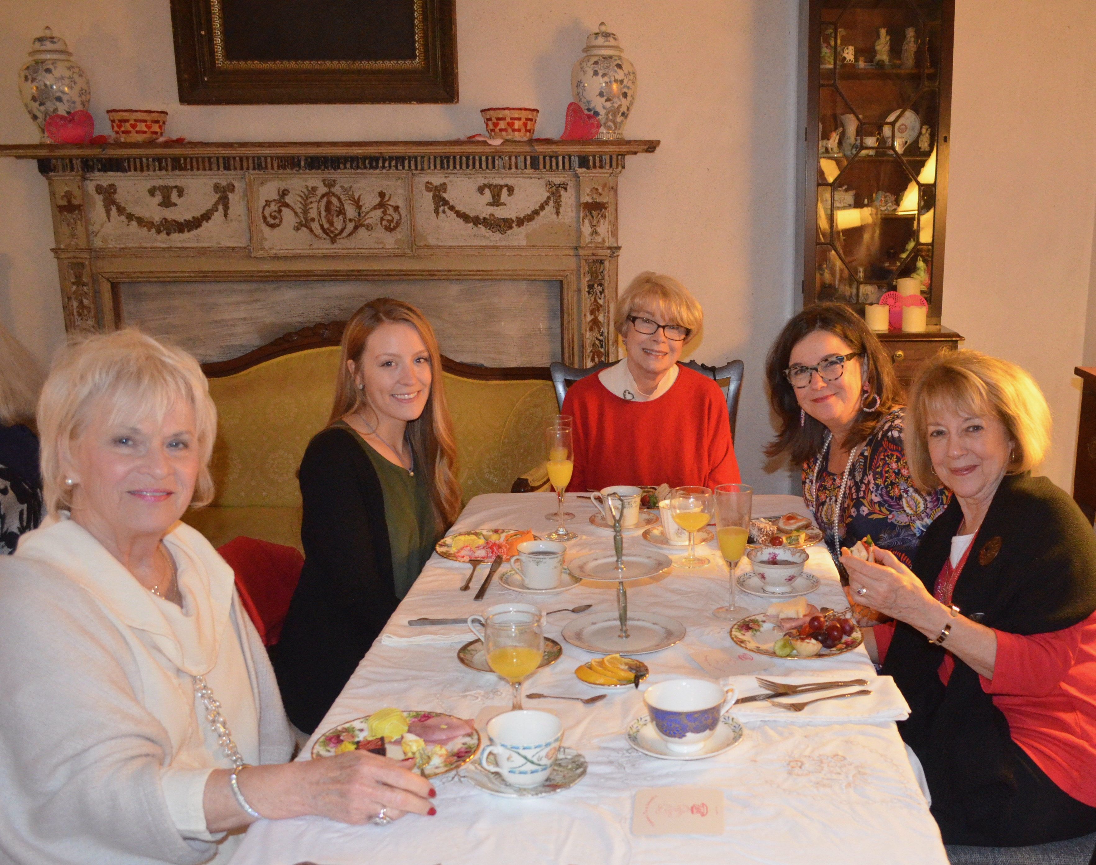 "Valentine's Tea at the ""Old Tabby"