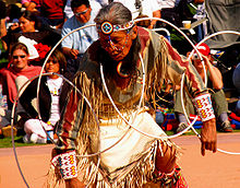 Participant in the 2005 World Championship Hoop Dance Contest.
