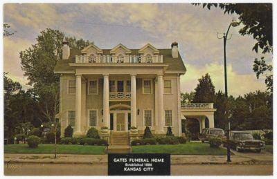 Gates Funeral Home in the 1960s