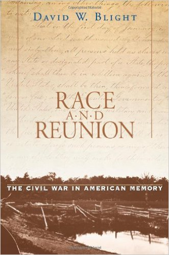 To learn more about race and the memory of the Civil War in the South, consider this book by historian David Blight linked below.