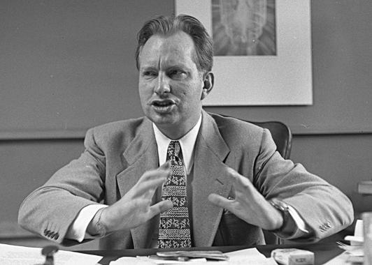 L. Ron Hubbard in 1950