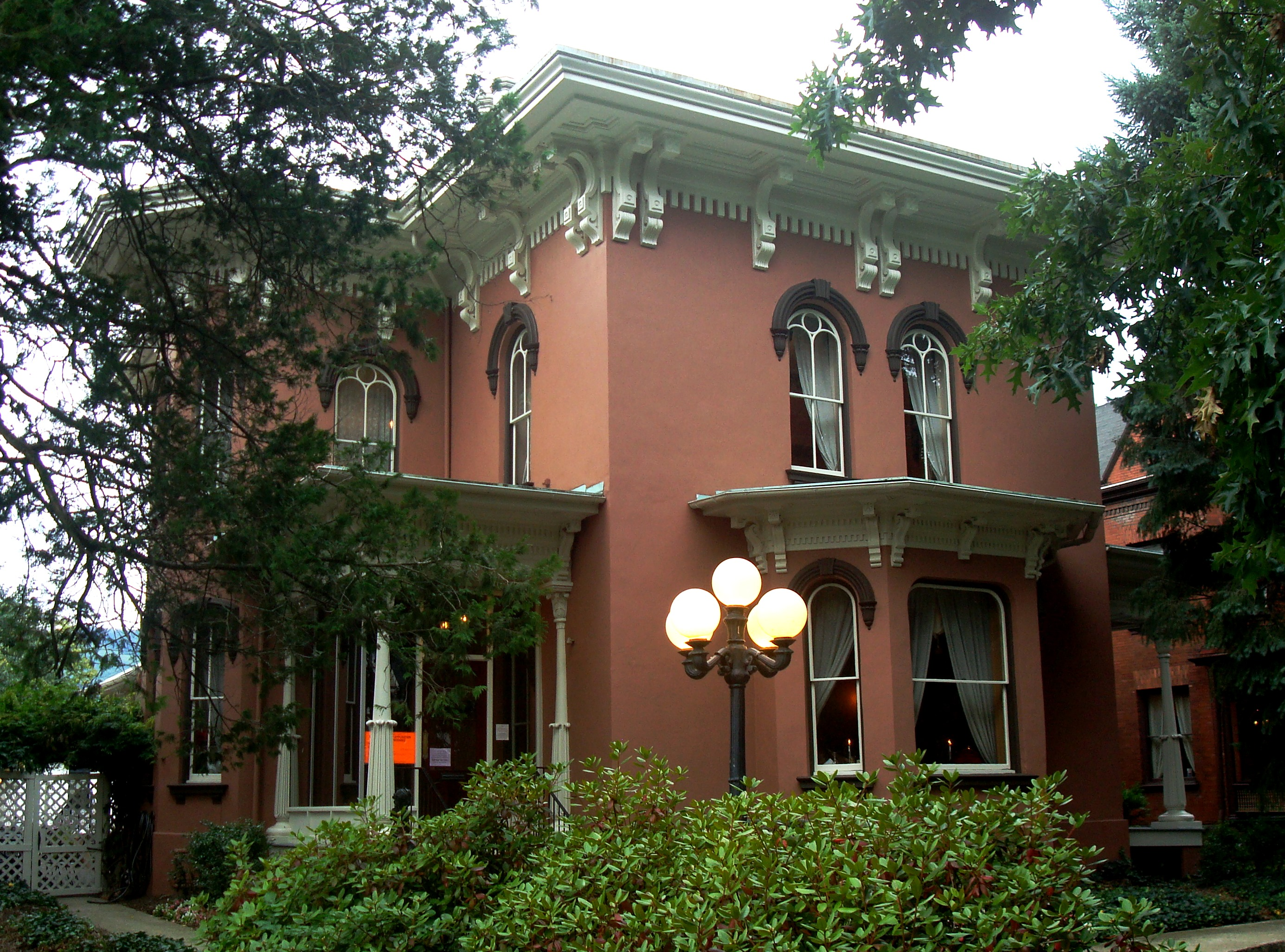 The Peter Herdic House, at 407 West Fourth Street, one of the original homes on Williamsport's Millionaires Row, is the centerpiece of the historic district. The building is now a fine-dining restaurant but is also maintained as a small museum.