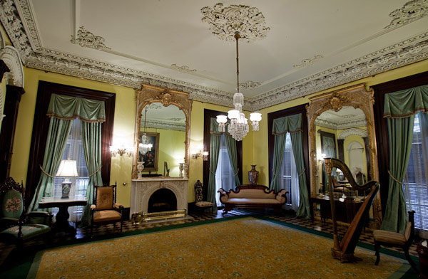 One of the rooms in the house.