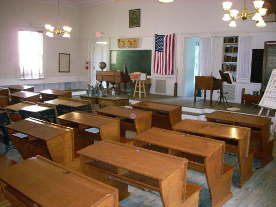 The authentic 1900s classroom