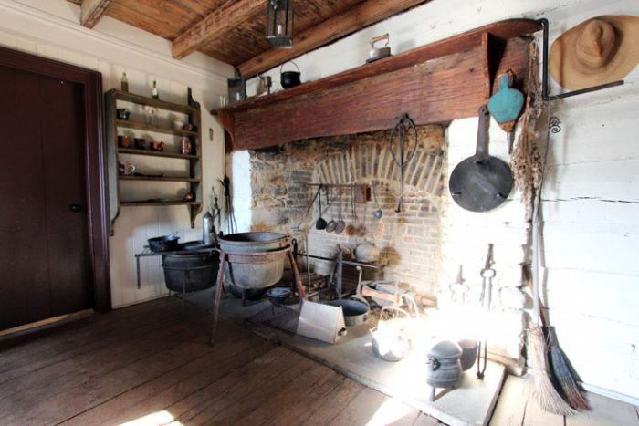 The kitchen within Woodville.