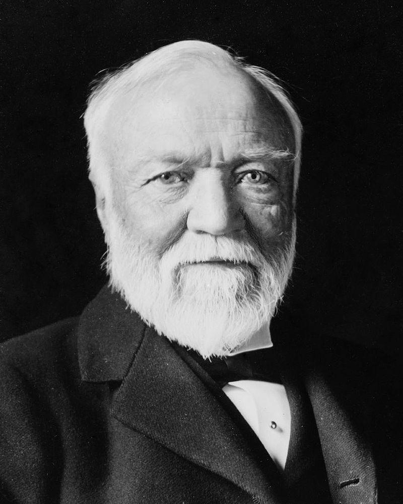 Andrew Carnegie in 1913